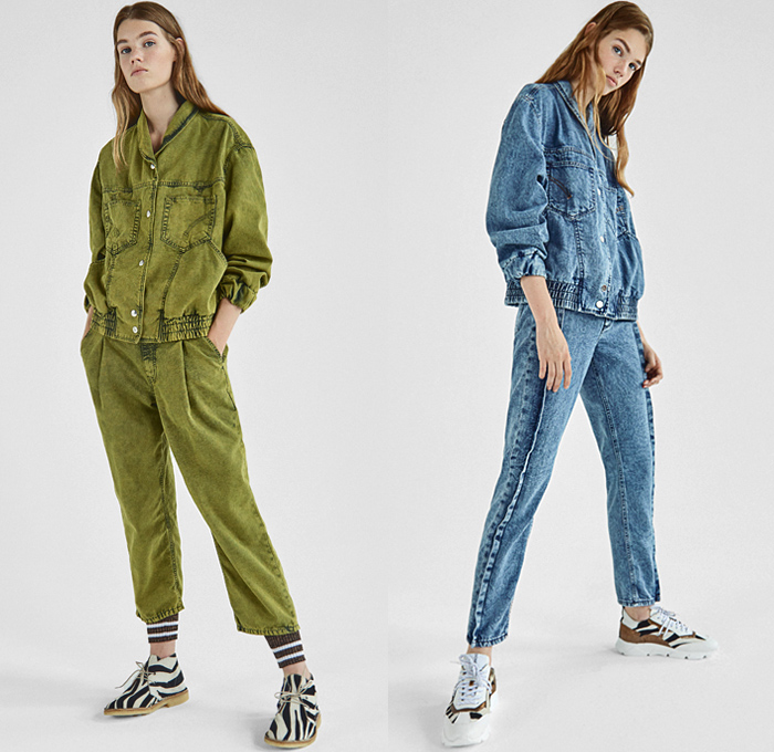Dondup 2019 Resort Cruise Womens Look Presentation Denim