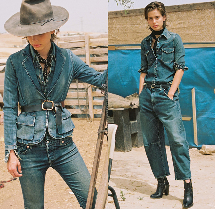 Jean Shirt Womens