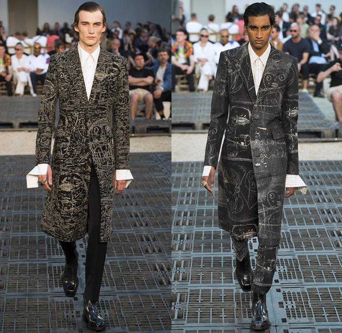 2d94a7219 Alexander McQueen 2019 Spring Summer Mens Runway | Denim Jeans ...