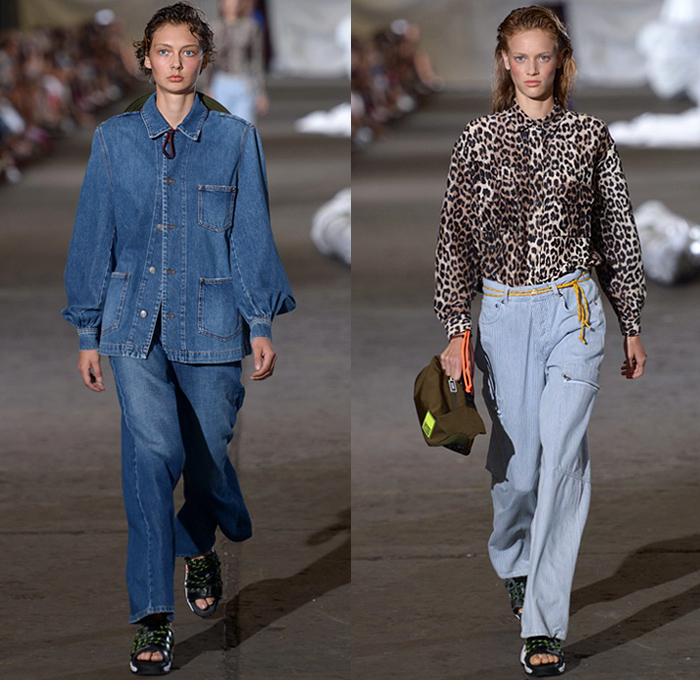 70bf4c188fc1 Ganni 2019 Spring Summer Womens Runway Catwalk Looks - Copenhagen Fashion  Week Denmark CPHFW København -