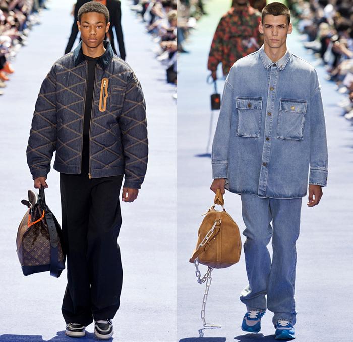 Louis Vuitton 2019 Spring Summer Mens Runway Catwalk Looks Collection Paris  Fashion Week Homme France FHCM 0e3f55816c2a3