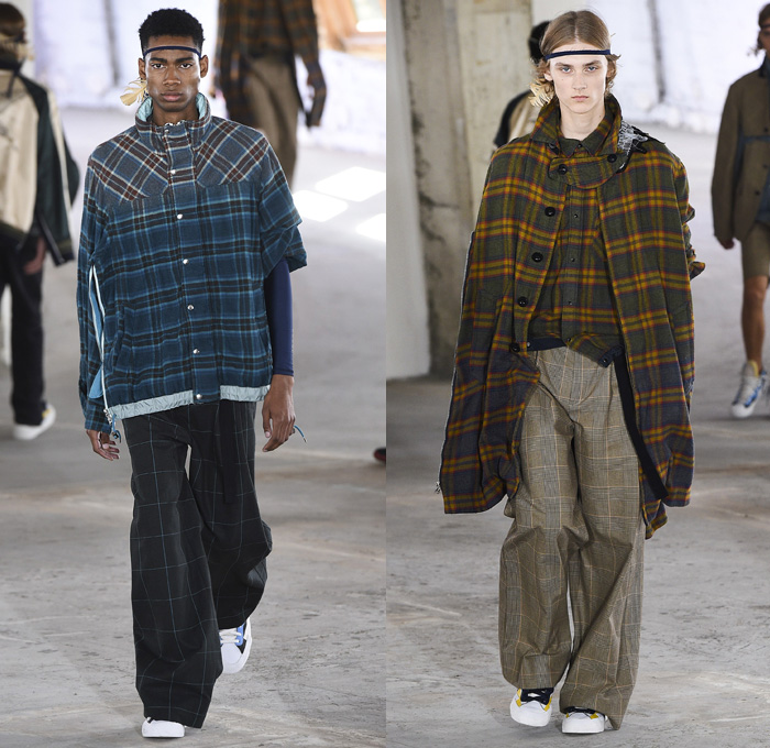 Sacai 2019 Spring Summer Mens Runway Collection Denim