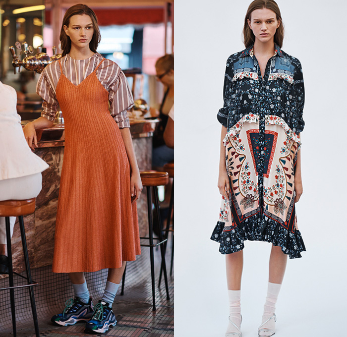 Sandro 2019 Spring Summer Womens Looks Presentation