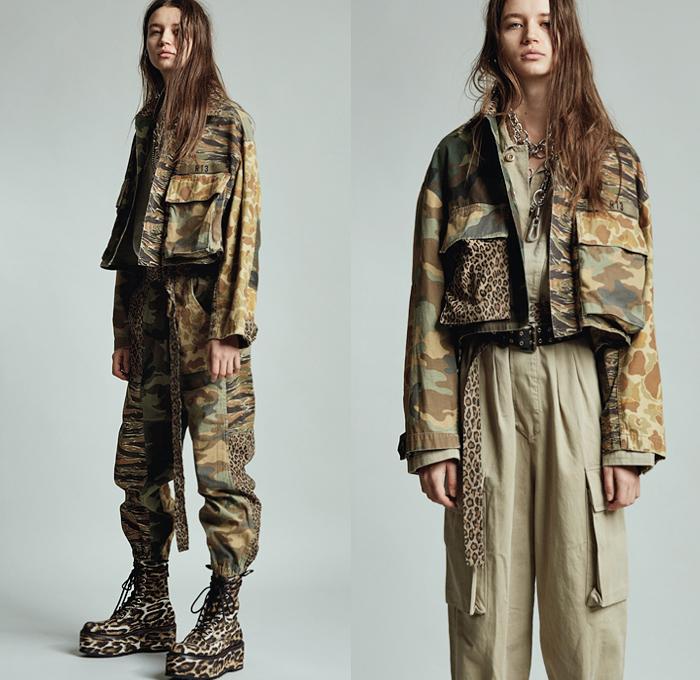 R13 2020 Pre Fall Autumn Womens Looks Presentation | Denim
