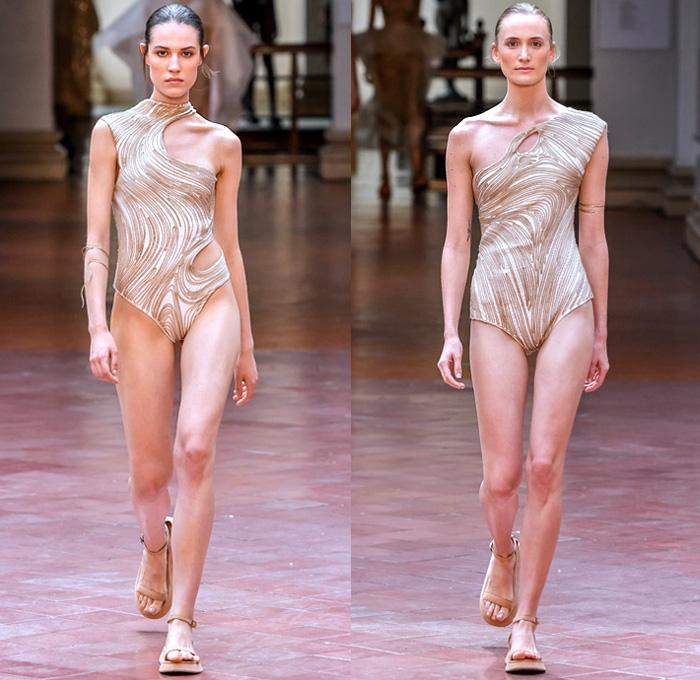 c9e4226d5c6a Lenny Niemeyer 2020 Summer Verão Womens Runway Catwalk Looks São Paulo  Fashion Week Brasil Southern Hemisphere