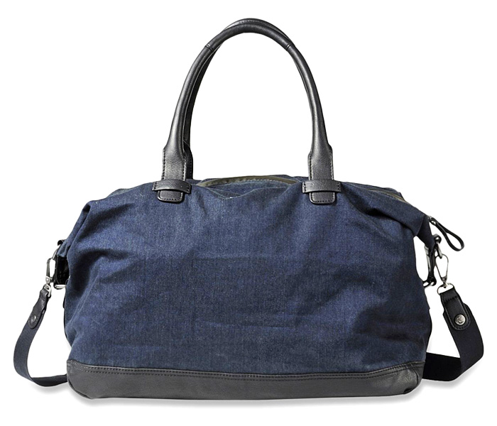Diesel 2013 2014 Fall Winter Mens Travel Bag And Backpack Denim Jeans Fashion Week Runway