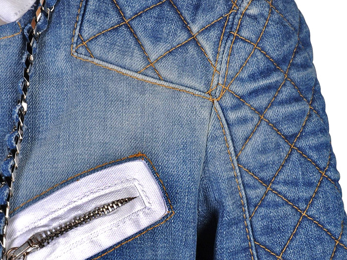 Dsquared2 2013 Spring Womens Made in Denim Finds - Denim Outerwear & Jeanswear Jackets: Trend