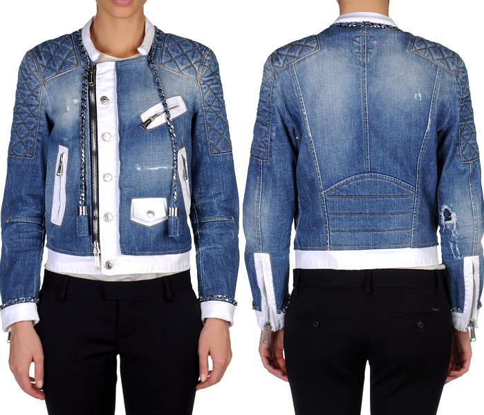 Outerwear Trend 2013 Made Spring Denim Jeanswear Dsquared2 amp; Finds Womens Jackets In UqFnd0x