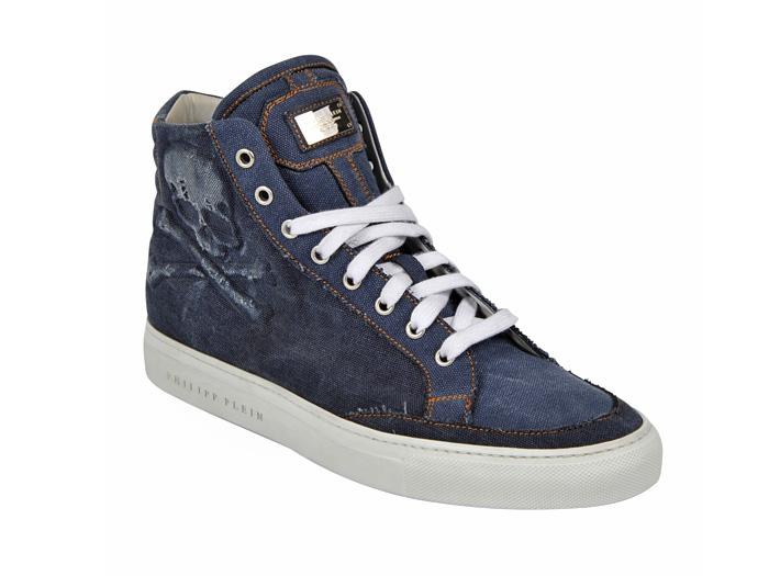Philipp Plein 2013 Spring Summer Denim Shoes Top Picks