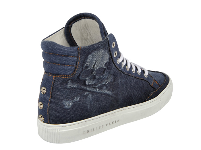 Philipp Plein 2013 Spring Summer Denim Shoes Top Picks