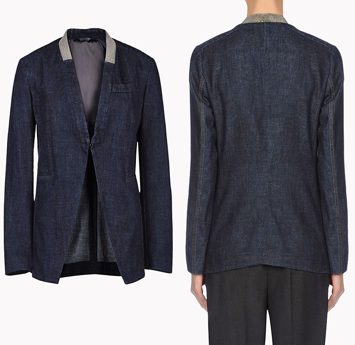 Brunello Cucinelli Womens Shoes Jacket Pillow Skirt Top Denim Jeans Fashion Week Runway