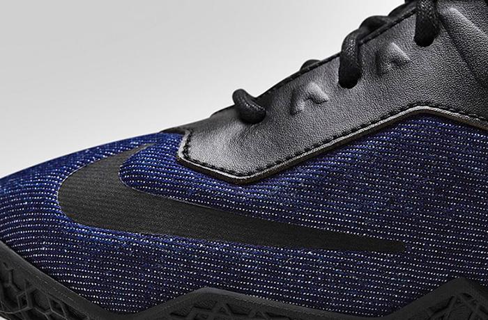 Nike Mens Lebron 11 Ext Denim Basketball Shoes Denim