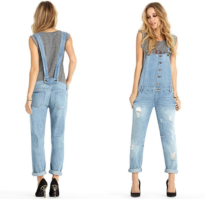 Rachel Roy Womens 2014 Spring Summer Made in Denim Finds | Denim Jeans Fashion Week Runway ...