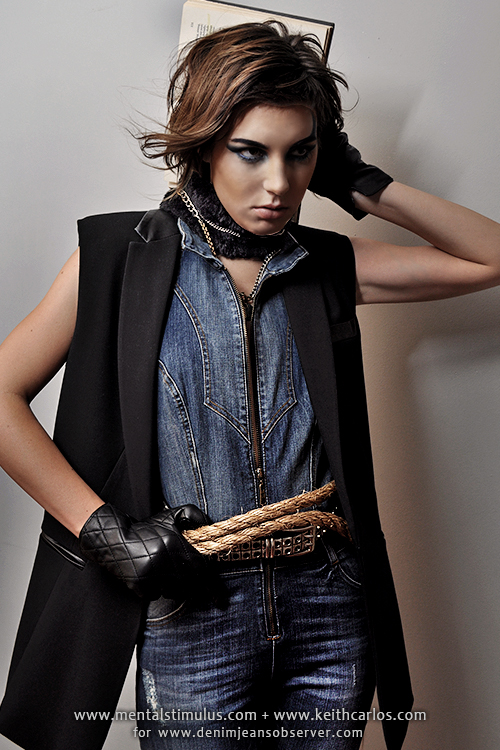 Fashion Editorial Denim 2014 2015 Fall Winter Some Fear Denim Jeans Fashion Week Runway