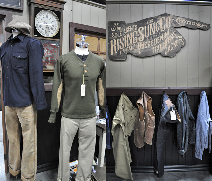Rising Sun & Co. Booth at Project Las Vegas: Designer Denim Jeans Fashion: Season Collections, Runways, Lookbooks and Linesheets