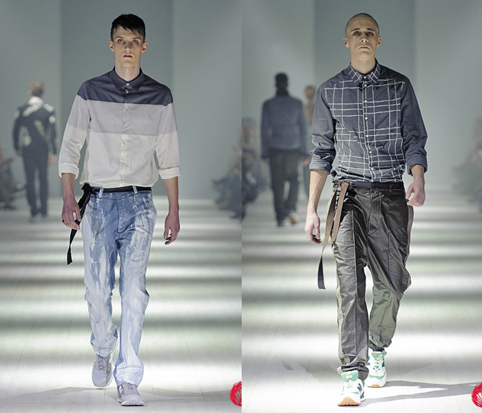 Ukrainian Fashion Week: Jeanswear 2013-2014 Fall Winter Mens Runways