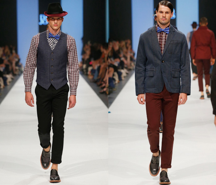 denim jeanswear fw 2013 14 mens runways denim jeans fashion 1 brent wilson david jones opening event supported by vogue