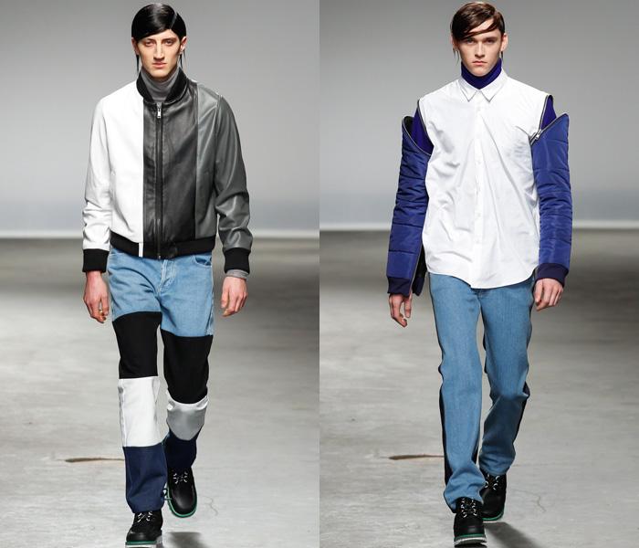 Men Fall Denim Trends 2014