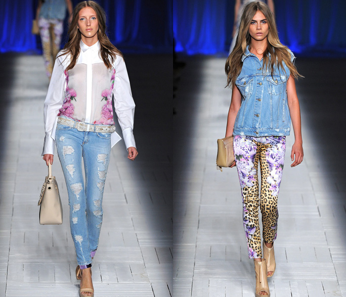 2013 Spring Summer Womens Runways Denim