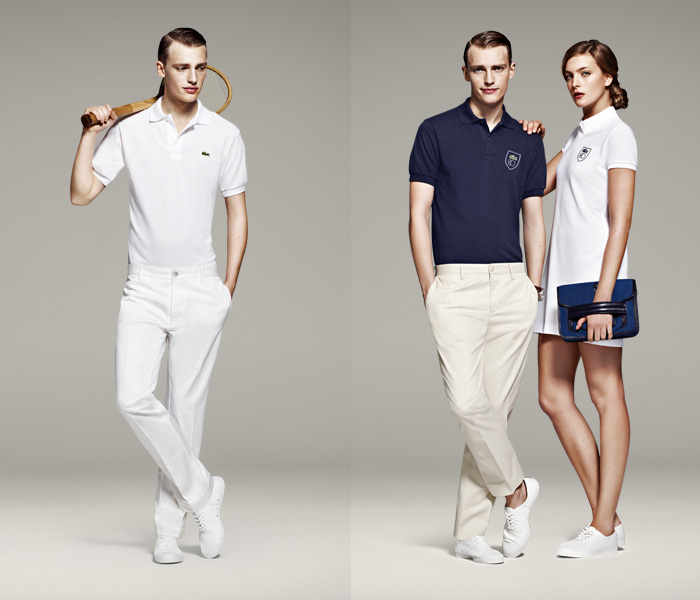 80 Years Lacoste Polo Cotton Piqué Shirt Style