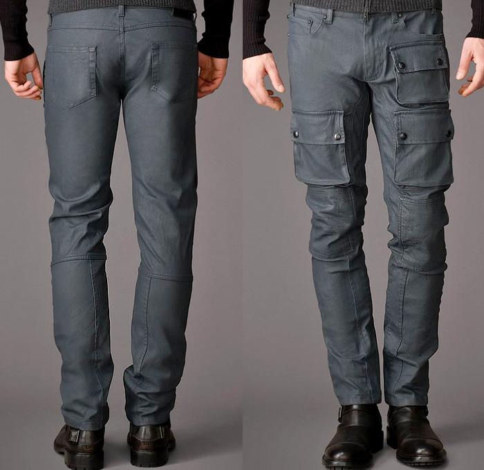 Belstaff Mens Devonport Jeans Resin Coated 10 Oz Denim ...