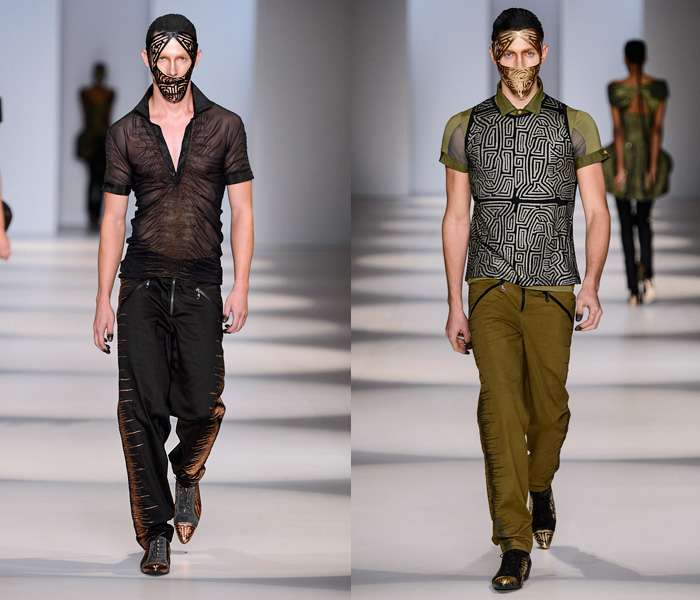 (4) Lino Villaventura - São Paulo Fashion Week - Denim & Jeanswear 2014 Summer Mens Runways - 2014 Verao Desfiles Passarela Homens: Designer Denim Jeans Fashion: Season Collections, Runways, Lookbooks and Linesheets