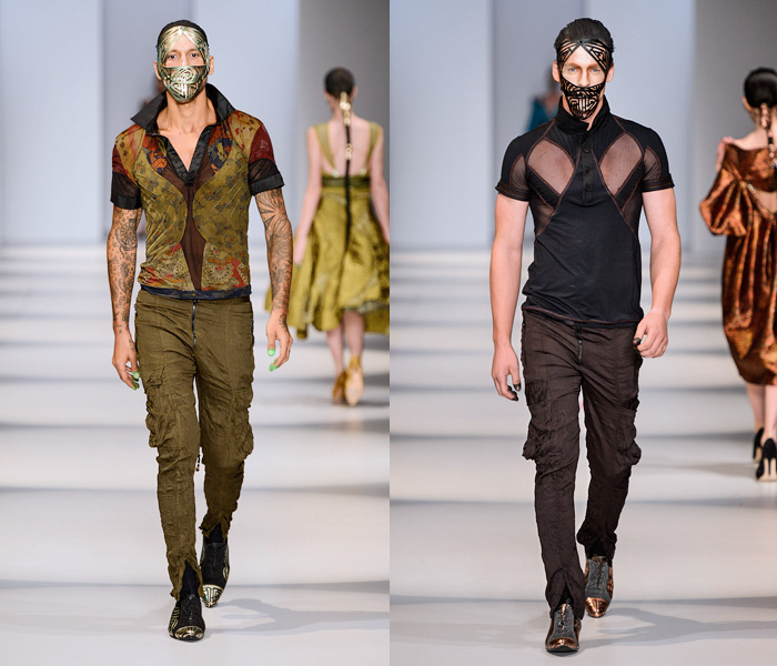 (5) Lino Villaventura - São Paulo Fashion Week - Denim & Jeanswear 2014 Summer Mens Runways - 2014 Verao Desfiles Passarela Homens: Designer Denim Jeans Fashion: Season Collections, Runways, Lookbooks and Linesheets