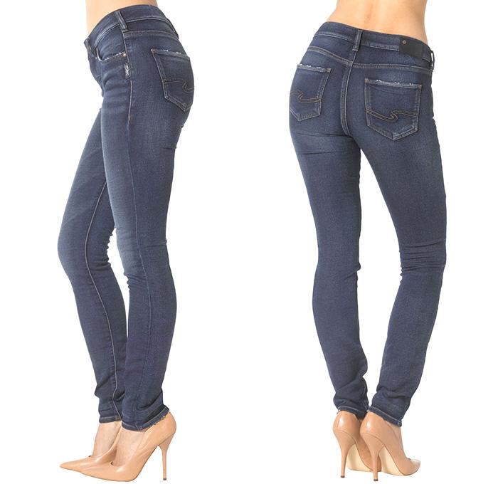Joga Jeans Hybrid Denim Weave Sweatpants by Silver Jeans | Denim Jeans Fashion Week Runway