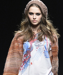 Benetton 2013-2014 Fall Winter Womens Runway