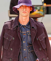 Floppy Hat Denim Jeans Fashion Week Runway Catwalks Shows 4cc0077315d7